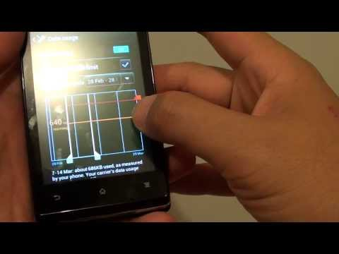 how to enable background data in xperia m