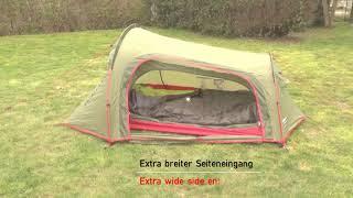 Компактная палатка для велопутешествий и трекинга High Peak Sparrow 2