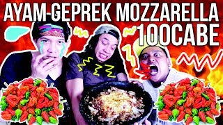 Video 100 CABE HABIS!!! MAKAN AYAM GEPREK MOZZARELLA 100 CABE | GERRY GIRIANZA ft BM BOIS MP3, 3GP, MP4, WEBM, AVI, FLV Oktober 2017