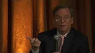 Eric Schmidt speaks at the Ad Age Madison + Vine Conference on July 16, 2008 in Beverly Hills, CA. Conversation is with Abbey...