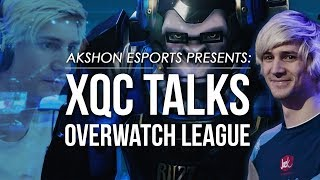 XQc Talks Overwatch League - OWL Experience, Reflections and Future