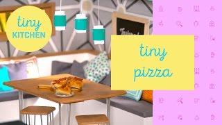 Tiny Pizza | Tiny Kitchen by Tastemade