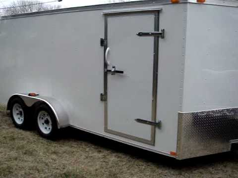 Kings Sales and Service enclosed trailer  / Kings Cargo trailer