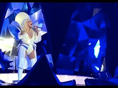 Christina Aguilera - Your Body | The Xperience Opening
