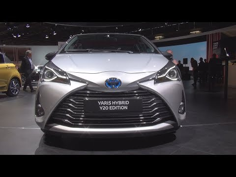 Toyota Yaris Hybrid Y20 Edition 1.5 Hybride E-CVT (2019) Exterior and Interior