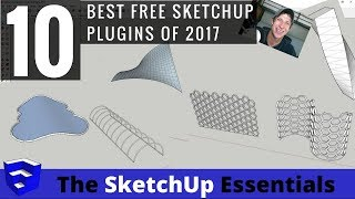 Video My Top 10 Free SketchUp Plugins in 2017 MP3, 3GP, MP4, WEBM, AVI, FLV Desember 2017