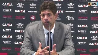 Fabiano Soares fala após empate com o Grêmio pelo Campeonato Brasileiro Bem-vindo ao Canal do UOL Esporte.