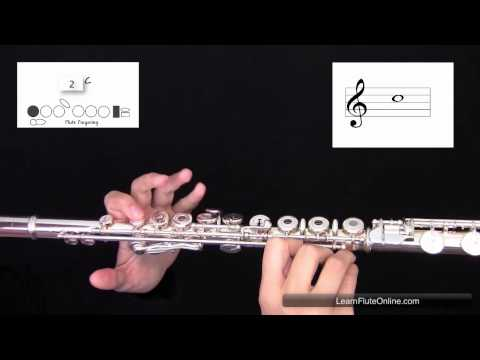 How To Play The Note C natural on the Flute: Learn Flute Online