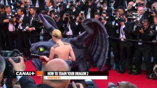 Cannes 2014 HOW TO TRAIN YOUR DRAGON 2 - Red Carpet - YouTube