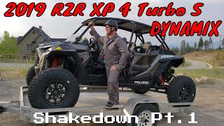 "7. Polaris 2019 RZR XP 4 Turbo S - DYNAMIX ""Shakedown Pt.1"" | Irnieracing 4k"