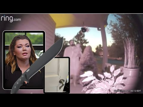TRIGGER WARNING: AUDIO of Amber Portwood coming after Andrew Glennon and son with machete.