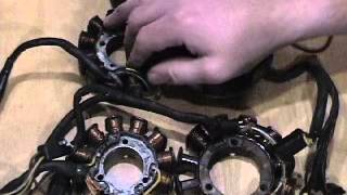 10. Arctic Cat Stator ohm testing cold vs warm