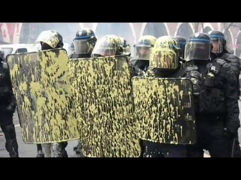 Γαλλία: Κινητοποιήσεις ενάντια στις εργασιακές μεταρρυθμίσεις