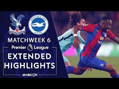 Crystal Palace v. Brighton | PREMIER LEAGUE HIGHLIGHTS | 9/27/2021 | NBC Sports