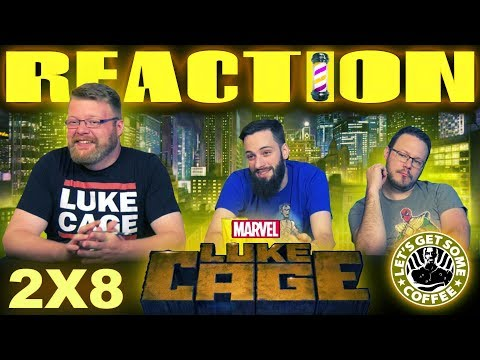 "Luke Cage 2x8 REACTION!! ""If It Ain't Rough, It Ain't Right"""