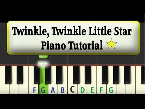 Easy Piano Tutorial: Twinkle Twinkle Little Star