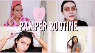 Video FALL PAMPER ROUTINE: AT HOME SPA DAY 2018 | JuicyJas MP3, 3GP, MP4, WEBM, AVI, FLV Desember 2018
