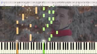 Праздник к нам приходит - Билан Дима (Ноты и Видеоурок для фортепиано) (piano cover)