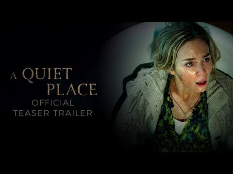 A Quiet Place (2018) - Official Teaser Trailer - Paramount Pictures