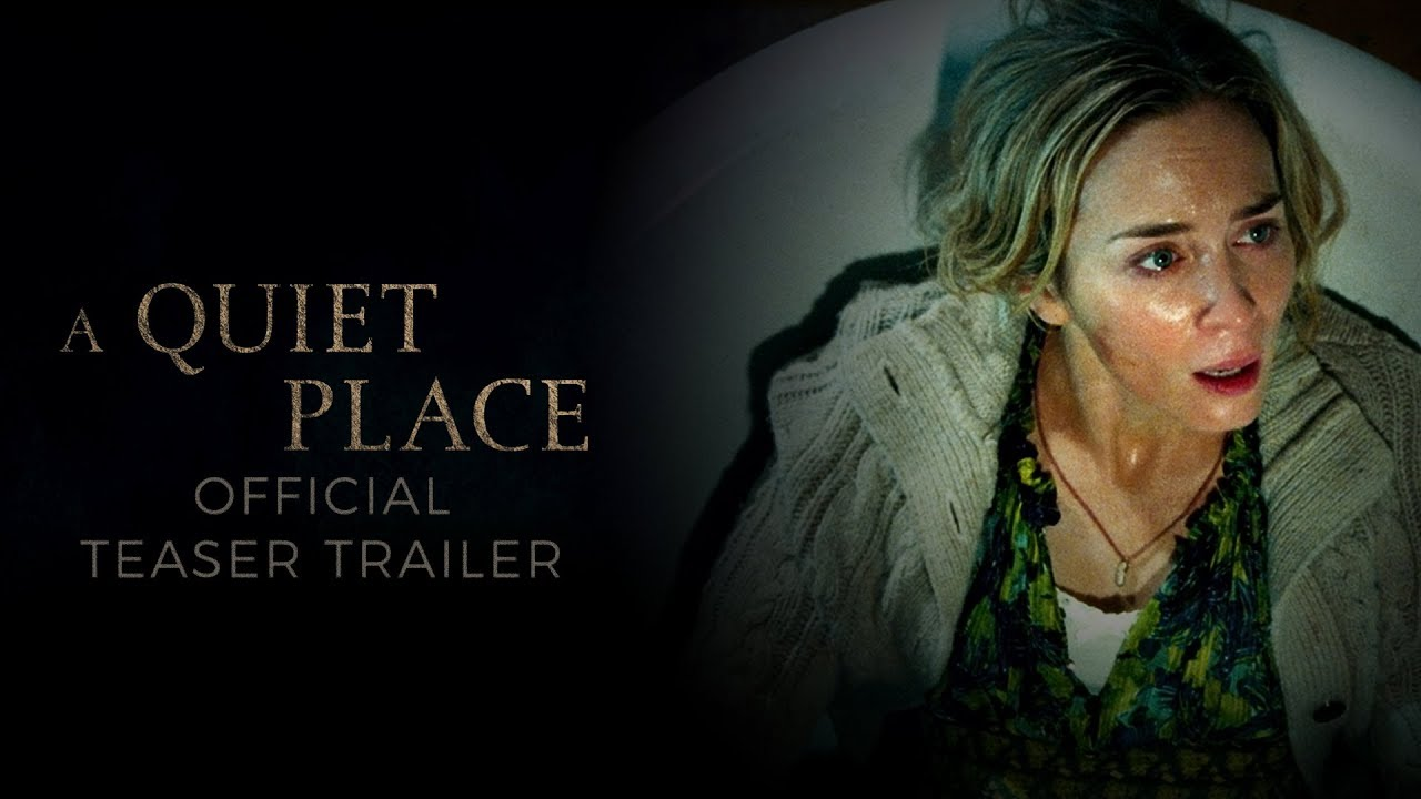 John Krasinski & Emily Blunt Listen Closely, Move Carefully & Never Make a Sound in 'A Quiet Place' (Teaser Trailer)
