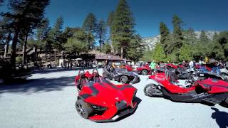 Cannonball Run First Owner's Ride - Polaris Slingshot