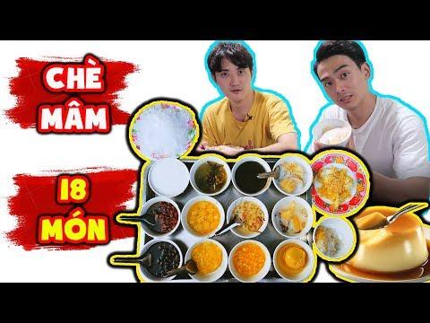 Lần đầu ăn ngập mặt Chè Mâm Việt Nam!! || Phản ứng người Hàn khi ăn chè mâm - Thời lượng: 10 phút.