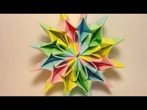 origami - NEW FIREWORKS TUTORIAL: http://www.youtube.com/watch?v=z0-mlZvJD-E Follow on Facebook: http://www.facebook.com/JoOrigami Your name in Origami: http://www.ilo...