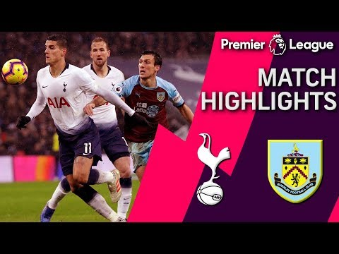 Video: Tottenham v. Burnley | PREMIER LEAGUE MATCH HIGHLIGHTS | 12/15/18 | NBC Sports
