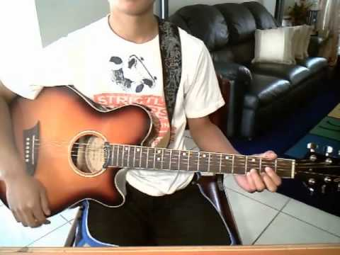 When You're Gone by Avril Lavigne (guitar cover) with CHORDS + STRUMMING PATTERN