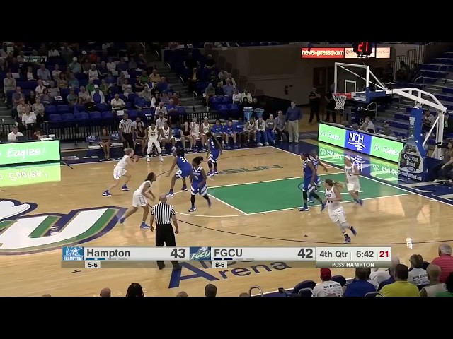 ESPN College Basketball highlights: Hampton at Florida Gulf Coast (FGCU)