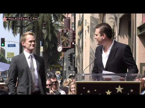 Neil Patrick Harris Walk of Fame Ceremony