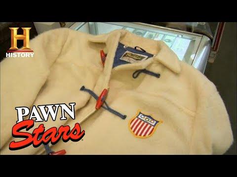 Pawn Stars: SERIOUSLY RARE 1956 WINTER OLYMPICS COAT (Season 4) | History