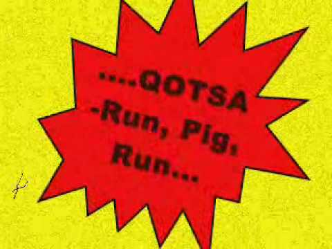 Tekst piosenki Queens of the Stone Age - Run, Pig, Run po polsku