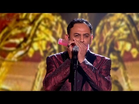 Britain's Got Talent 2015 S09E12 Semi-Finals  Narinder Dhani Plays the Comb