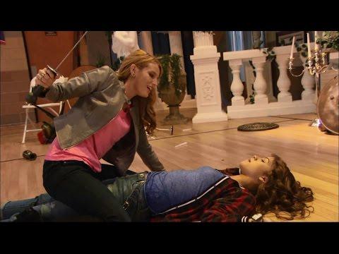 Zendaya & Bella Thorne Full Fight Scene - K.C. Undercover (Spy-anoia Will Destroy Ya)