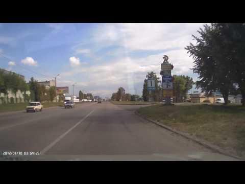 Авария с пешеходом в Харькове