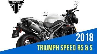 7. 2018 TRIUMPH SPEED TRIPLE RS & S REVIEW AND SPECS