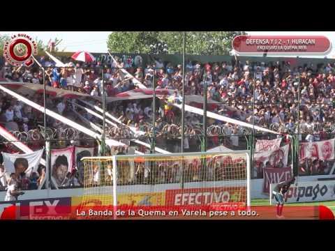 Defensa y Justicia 2 - 1 Huracan - La Banda de la Quema en Varela - www.laquemaweb.com.ar - La Banda de la Quema - Huracán