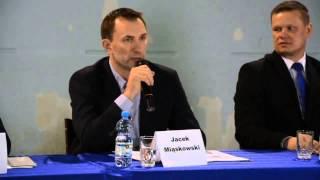 Debata z udziałem kandydatów na burmistrza Żukowa