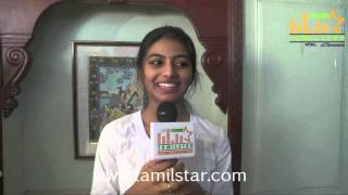 Anandhi at Kayal Movie Team Interview