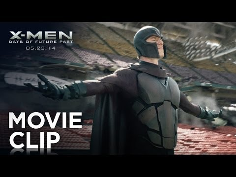 X-Men: Days of Future Past (Clip 'Stadium Levitation')