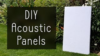 Video How to Make High Performance Sound Absorption Panels for $5 MP3, 3GP, MP4, WEBM, AVI, FLV Desember 2018