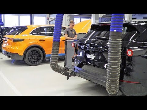 Porsche Cayenne E-Hybrid (2019) HOW IT'S MADE - Thời lượng: 3 phút, 54 giây.