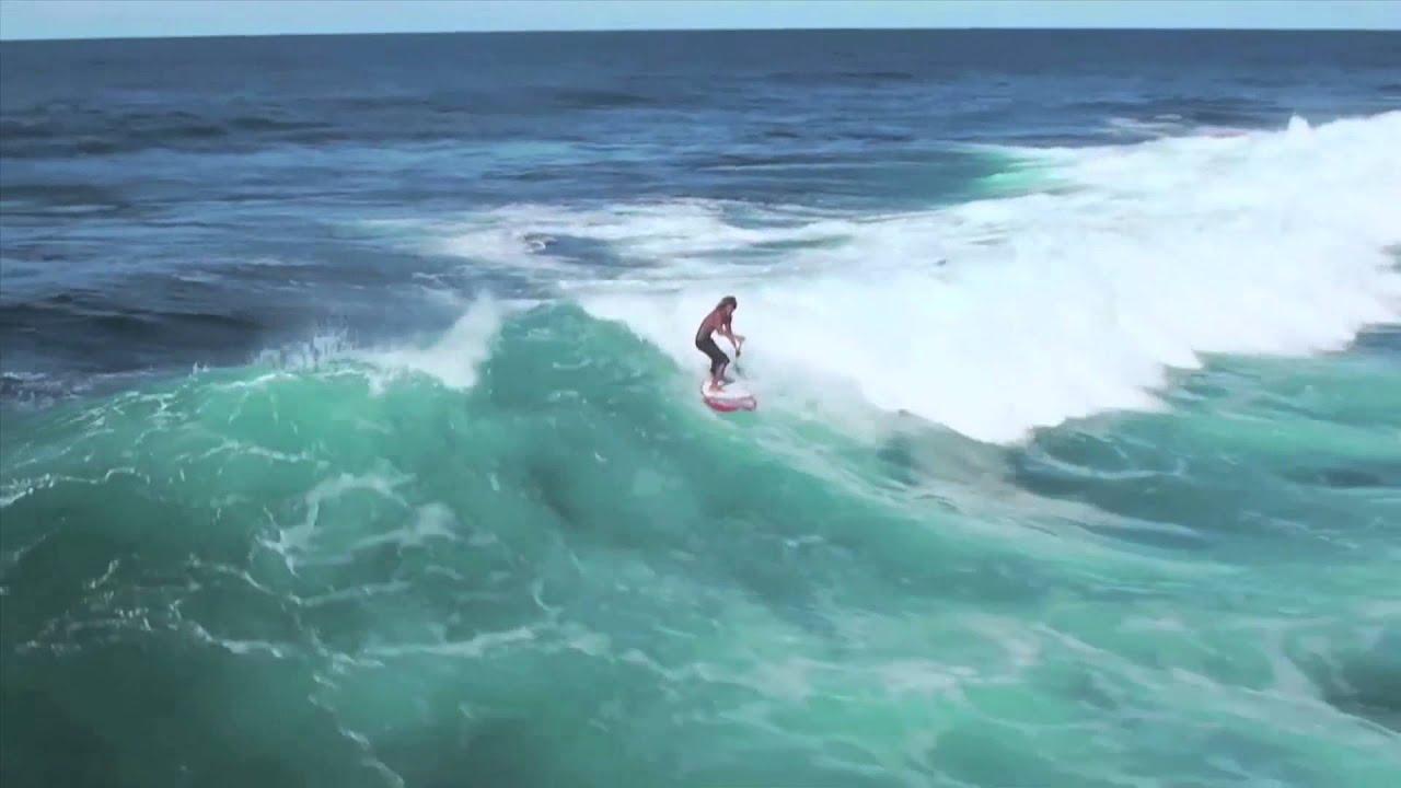 EVASIÓN TV: Escapada: padel surf con Airton Cozzolino