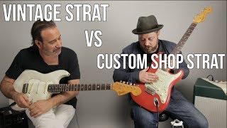 Video Vintage Strat vs Custom Shop Strat w Jason Sinay MP3, 3GP, MP4, WEBM, AVI, FLV Juni 2018