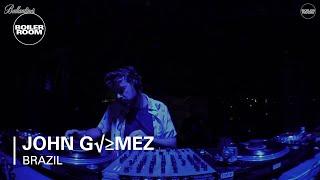 John Gomez - Live @ Boiler Room & Ballantine's True Music Brazil 2017