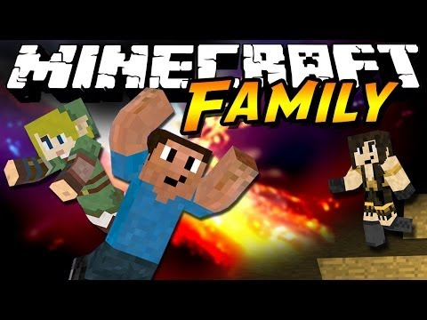 Minecraft Family #8: HAPPY THANKSGIVING!