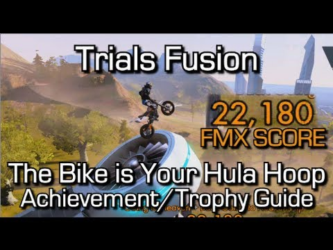 Trials Fusion – The Bike is Your Hula Hoop Achievement/Trophy Guide – FMX 20,000 Point Trick
