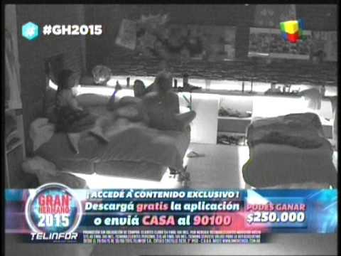 Marian cansada de fernando y Francisco aclara que Brian no le pego #GH2015 #GranHermano