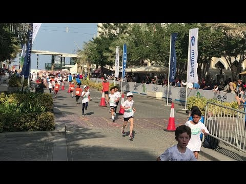 Video: 2018 Al Mouj Muscat Marathon kicks off with Kids' Run